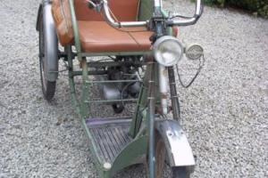 1966 Poirier MS6 Trike Chain Drive 98cc Sachs Engine