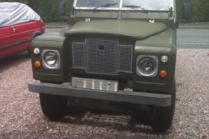 "LAND ROVER 88"" - 4 CYL GREEN"