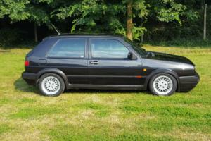 VOLKSWAGEN GOLF MK2 GTI 16V BLACK - 2 Door - 3 Owner Car