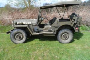Willys Jeep MB 1943 Genuine WWII Jeep USAAF marked Willys Jeep WWII