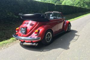 VW 1968 Beetle Karmann Convertible
