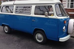VW Camper, Bay, '74. RHD. Full restoration, new engine. Excellent. Must see.