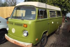 1978 VW T2 Bay Westy Westfalia Camper Project Bus Swivel seat