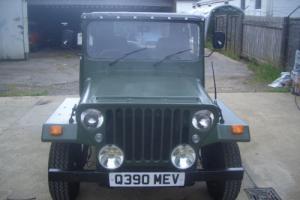 Jago Jeep kit car. Willys style. Nato green. New MOT. Escort based. Overhauled