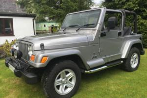 STUNNING JEEP WRANGLER 60TH ANNIVERSARY 4.0L GREAT 4X4 ICONIC EVERYDAY CLASSIC Photo