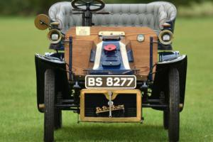 1903 Dedion Bouton Rear Entrance Tonneau