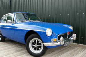 IMMACULATE BLUE MGB GT WITH 11 MONTHS MOT AND NO ADVISORY NOTICES ISSUED