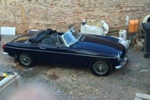 1972 MGB Roadster 12 Months MOT-Superb Rebuild History and Documentation Hardtop