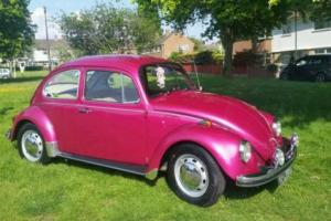 VW CLASSIC BEETLE GOOD RUNNING ORDER 1969 LHD 1300 engine - RELISTED