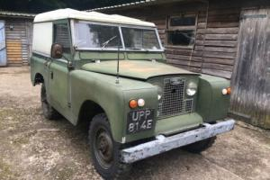 "Land Rover Series 2a IIa 88"" 1967 2.25 Diesel UPP 814E Buckinghamshire Reg"