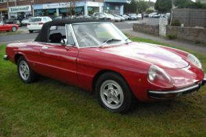 1975 Alfa Romeo 2000 SPIDER VELOCE