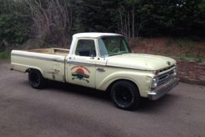 FORD F100 PICK UP SHOP TRUCK