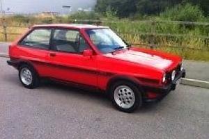 FORD FIESTA XR2 MK1 1983 - SUNBURST RED