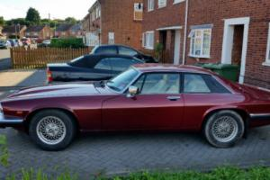 1989 JAGUAR XJS AUTO RED low milage