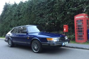 1991 SAAB 900 I 16V BLUE