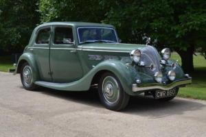 1937 Triumph Dolomite Short Chassis Saloon Photo
