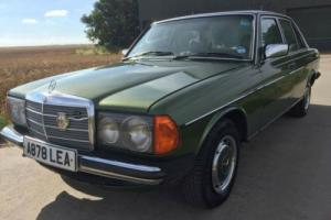 MERCEDES W123 230E AUTOMATIC 1984 LEATHER SEATS PRIVATE NUMBER PLATE CLASSIC CAR