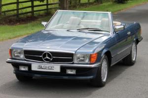 Classic Mercedes-Benz R107 300 SL (1987) Nautic Blue - Manual - Left Hand Drive