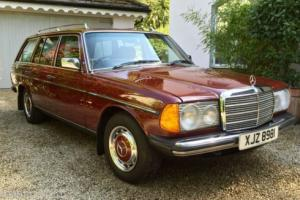 1982 Mercedes 200T Automatic, W123 Estate, 93,000 Miles, 1982 Stunning Condition Photo