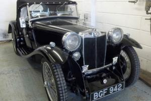MG PA 1934, Fully restored to superb spec.