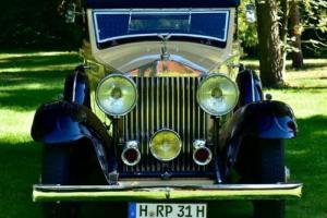 1931 Rolls Royce Phantom 2 All Weather LHD