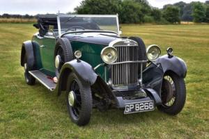 1931 Sunbeam 18.2hp 2.3 litre Drop Head Coupe.