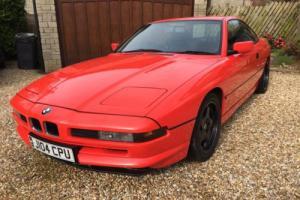 1991 BMW 850i Coupe 5 ltr V12 AUTO RED - Not 840 Very Rare Appreciating Classic