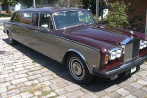 Rolls Royce Silver Shadow Stretch Limousine in WA