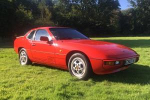 PORSCHE 924 S THE VERY BEST AVAILABLE 66K fsh the one with the 944 engine.