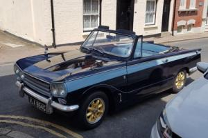 Triumph Vitesse MkII Convertible with O/D