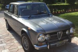 1972 Alfa Romeo giulia super