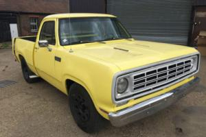 1976 Dodge Powerwagon 2WD Mopar Big Block Pickup Musclecar Hotrod Rumblebee