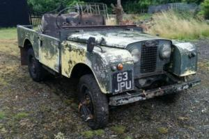 Land rover series 1 1956 -1957 ONE OWNER!! V5 LOG BOOK ALL ORIGINAL