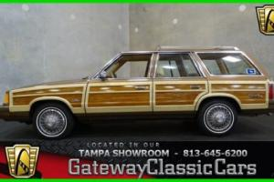 1987 Chrysler LeBaron Town & Country