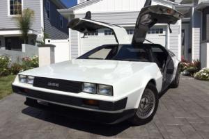 1981 DeLorean DMC12 Photo