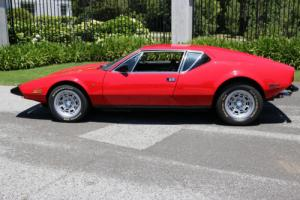 1973 De Tomaso Other Pantera Pre L Photo