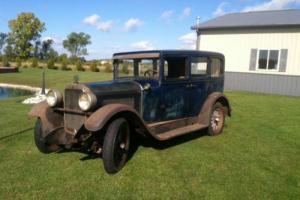 1929 Dodge standard 6 sedan