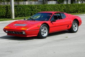 1983 Ferrari Other 1983 CALIFORNIA DELIVERY 512BBi BOXER RED BLACK