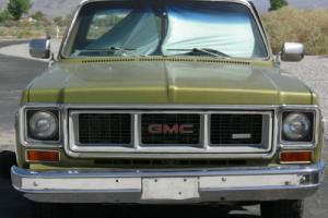 1973 GMC Sierra 2500 Camper special