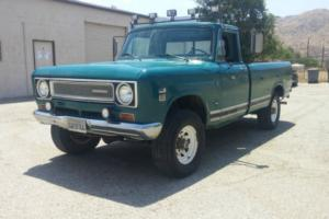 1971 International Harvester 1210 Pickup Camper Special