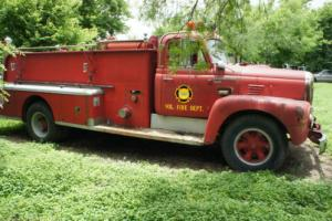 1963 International Harvester 1963 Model R1856 Fire Truck Pumper