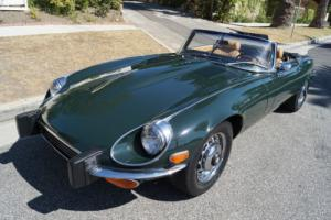 1974 Jaguar E-Type V12 4 SPD MATCHING #'S SERIES III ROADSTER! Photo