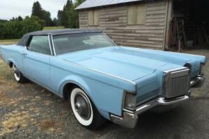 1970 Lincoln Mark Series
