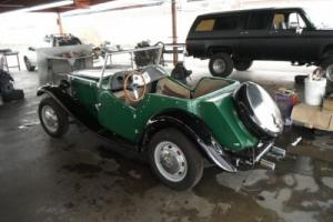 1959 MG T-Series
