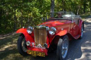 1948 MG T-Series TC