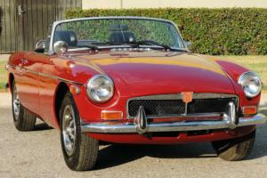 1974 MG MGB California Roadster, 52k Orig Miles