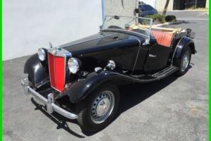 1958 MG T-Series Photo