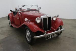 1950 MG TD Photo
