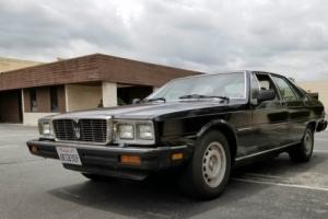 1983 Maserati Quattroporte QUATTROPORTE