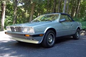 1987 Maserati Convertible